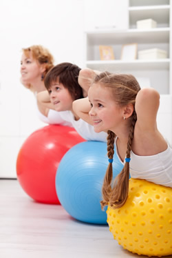 pilates for kids